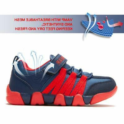 Troadlop Mens Shoes Sneakers Running Walking Tennis Shoes Bl