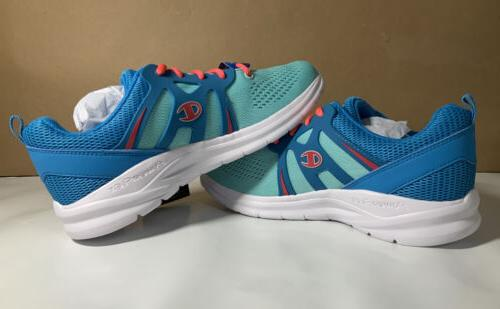 exhilarate womens athletic running shoe mint color