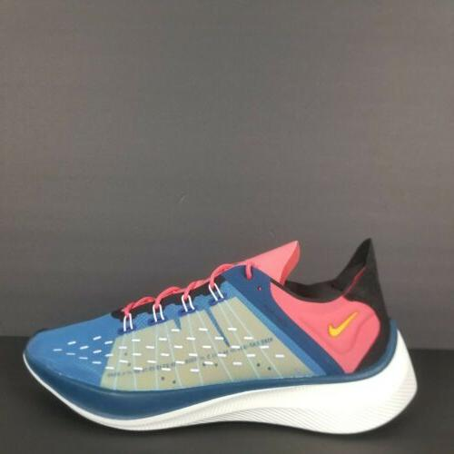 exp x14 running shoes blue force yellow