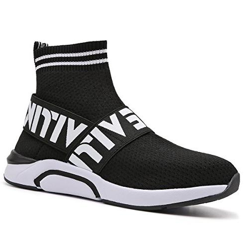 fashion flyknit sneakers running shoes breathable outdoor