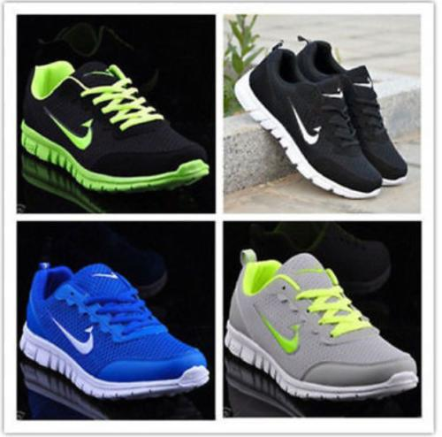US Trainers Running Gym Sneakers Lace New