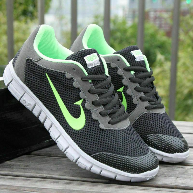 US Trainers Gym Sneakers Lace Up Breathable New