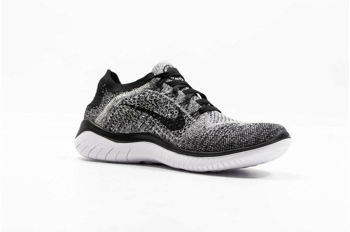 Nike Free 2018 Running White Black 101 Sz