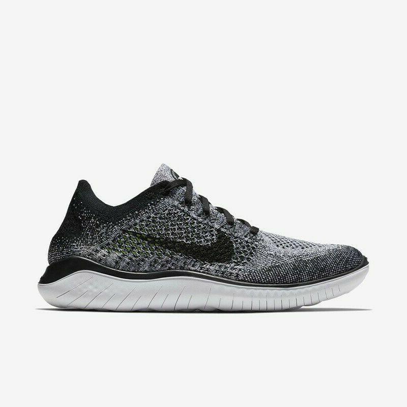 Nike RN 2018 Shoes White OREO 942838 101 Sz 7-8