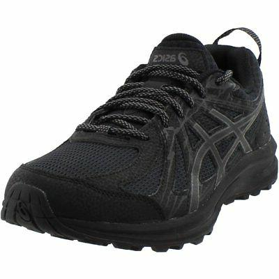 frequent trail running shoes black mens