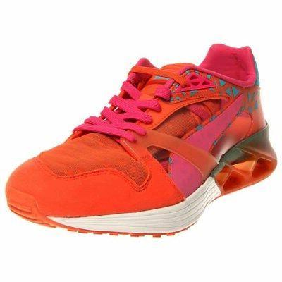 future xt runner running shoes orange mens