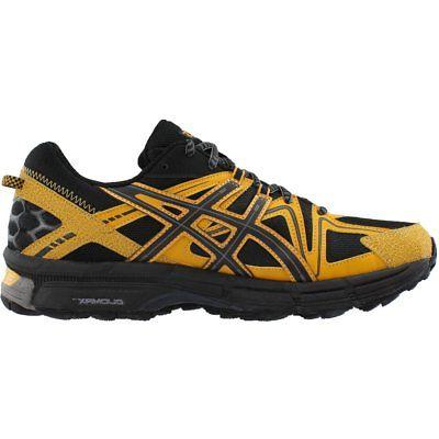 ASICS 8 Running Shoes - Black;Yellow -