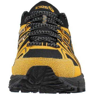 ASICS Running Shoes Black;Yellow - Mens