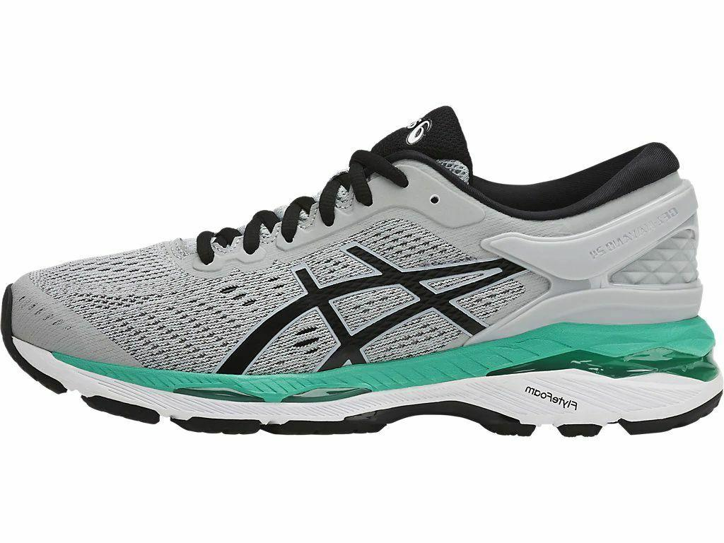 ASICS Gel Kayano 24 Women's Running Shoes Grey / Black / Atl