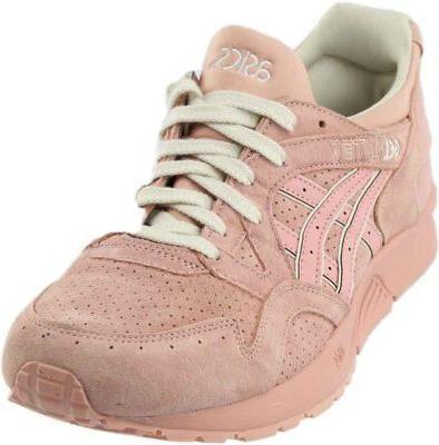 gel lyte v running shoes pink mens