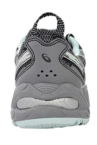 ASICS Running Shoe Gray/Silver/Soothing Sea)