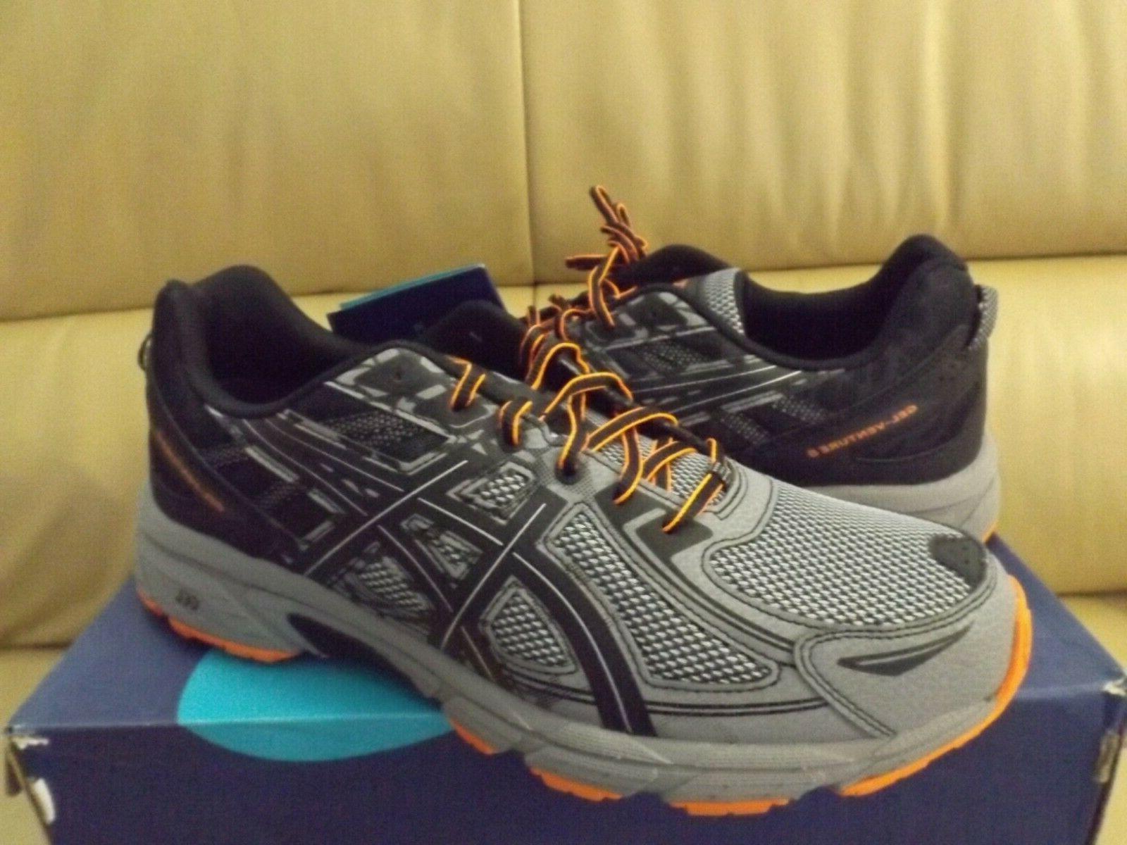 ASICS GEL-Venture Size Running Shoes Grey NEW