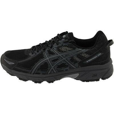 ASICS Running Shoes - Black - Mens