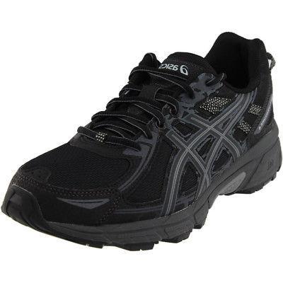 gel venture 6 trail running shoes black