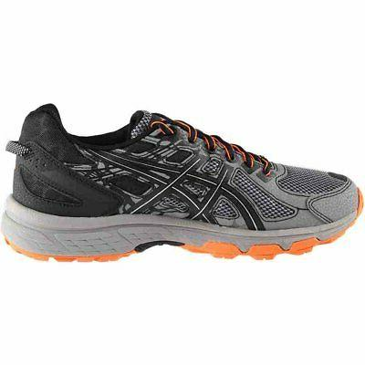 ASICS 6 Running Trail Grey Mens