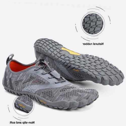 ALEADER hiitave Men/Womens Barefoot Trail Wide Toe