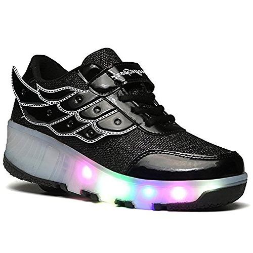kids led light up shoes flashing sneakers