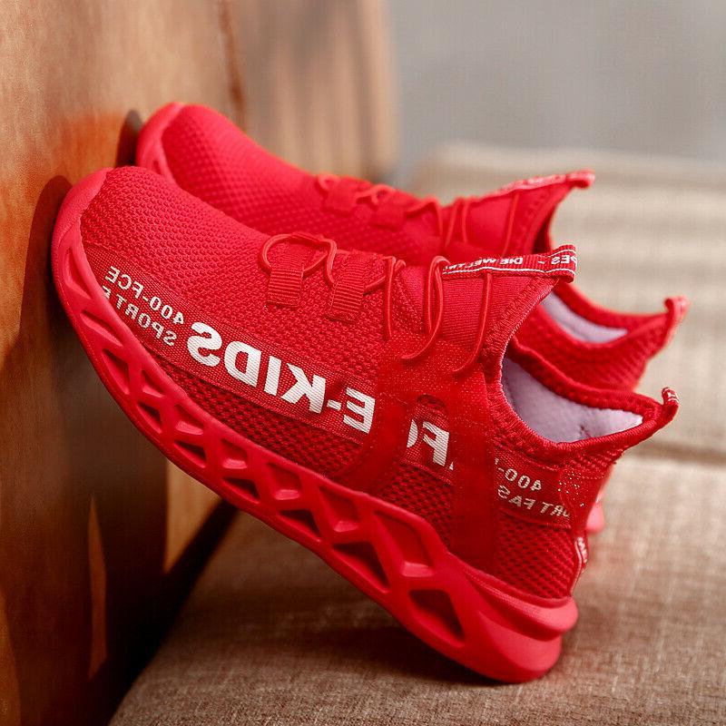 Kids Running Shoes Lightweight Boys size