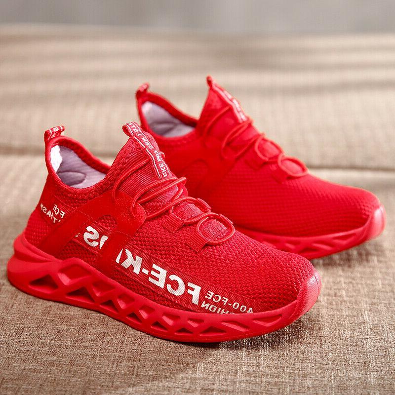 Kids Sneakers Boys Girls Running Shoes Boys Tennis