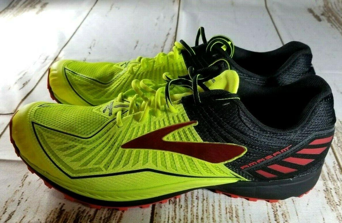 Brooks Red Men's Size Trail Running Shoes