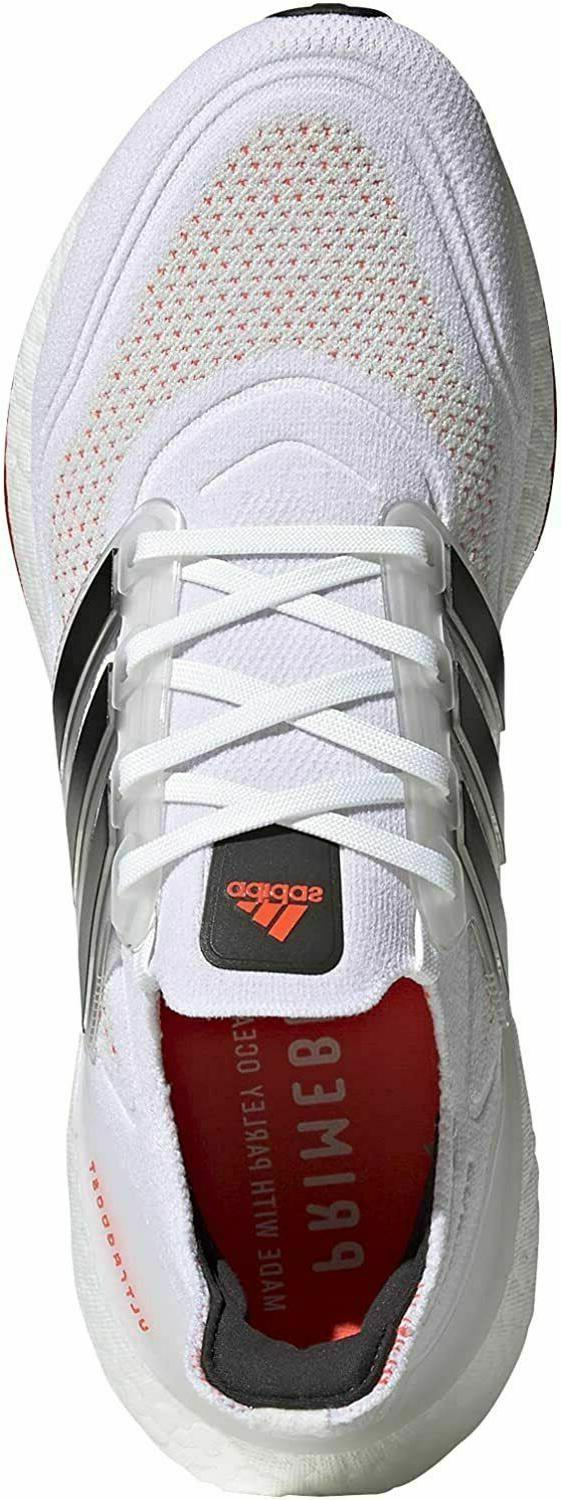 Adidas 11 M Ultra Running Shoes White/Black/Solar Red S23863