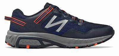 New Balance Trail Shoes Navy Orange & Grey