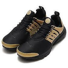 Nike Men's Air Presto Essential Running Shoes Black/Gold