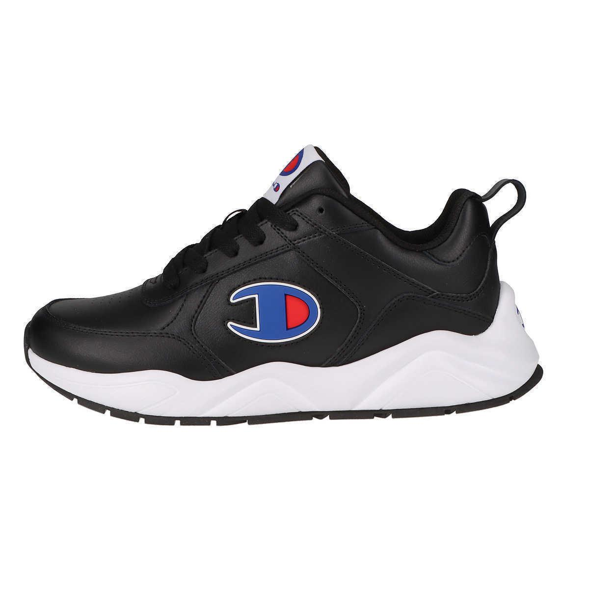 Champion Men's Lace-Up Casual Athletic Running - Black