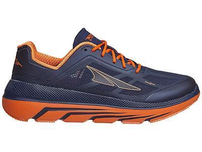 Altra Men's Duo Lace-Up Athletic Running Shoes Orange/Navy