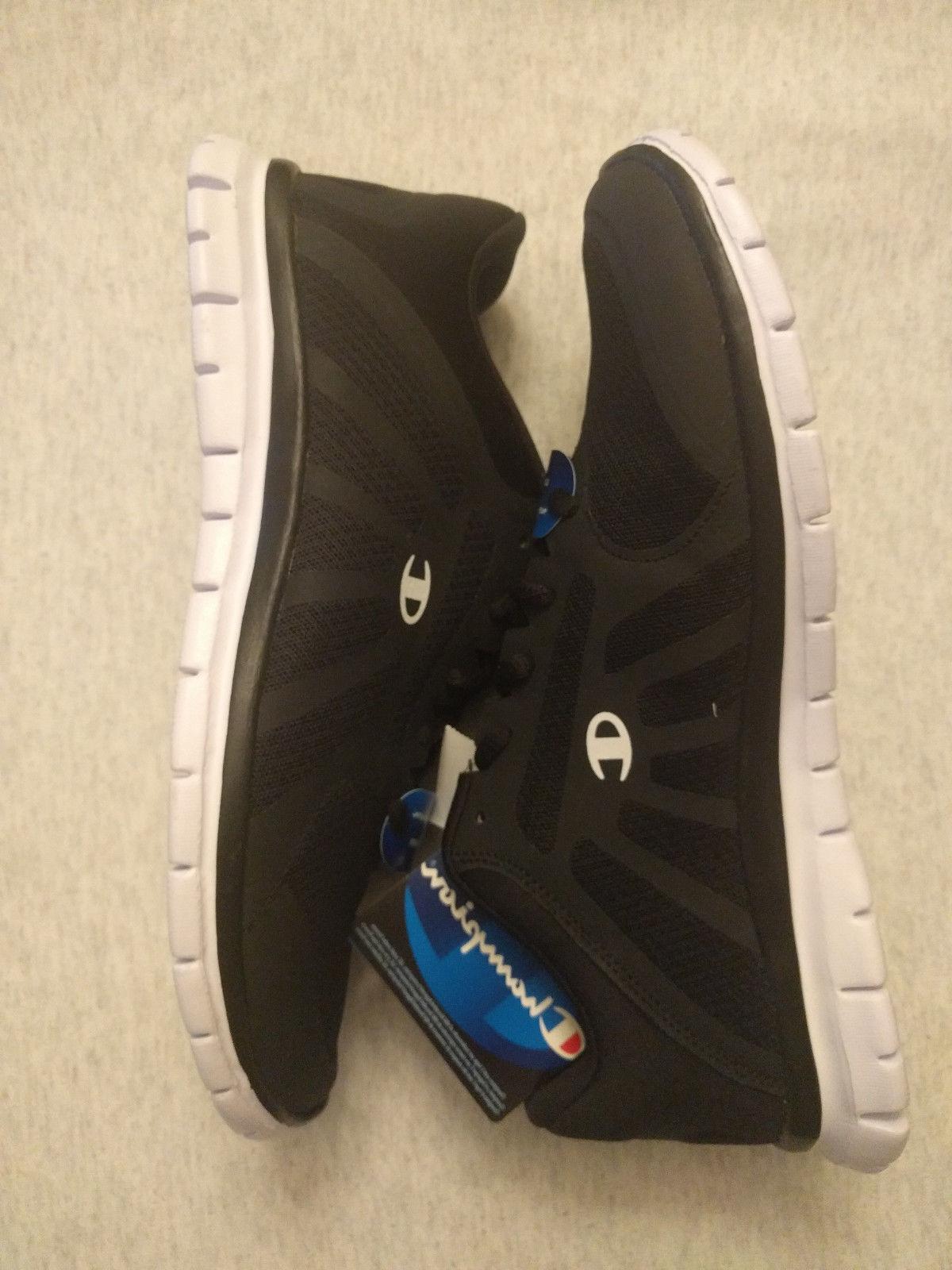 Champion Men's Gusto Running shoes Memory Foam Black/White S