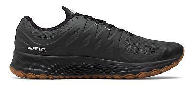 New Balance Men's Trail Black with White