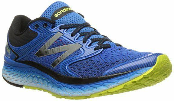 Men's New Balance M1080BY7 Running Shoes - Blue Yellow - BES