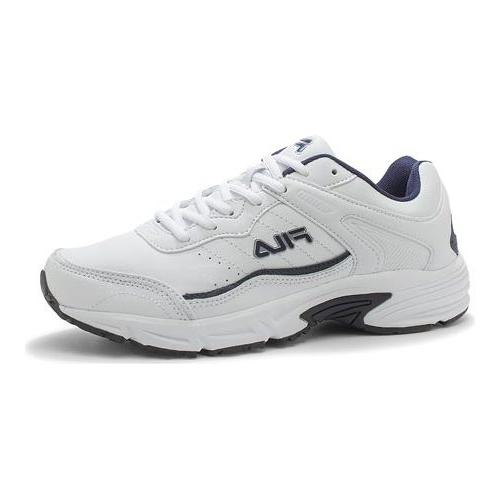 men s memory sportland running shoe white
