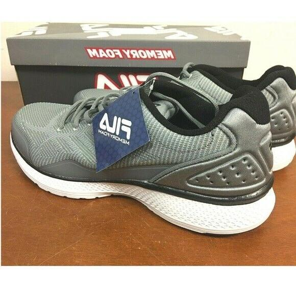 FILA Memory Athletic Shoes GRAY - SIZE -
