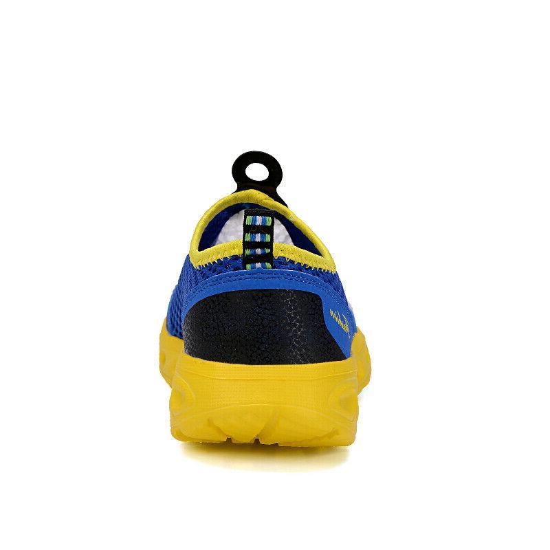 Men's Aqua Water Shoes Quick-Dry Beach Pool Swim Surf Walk Running