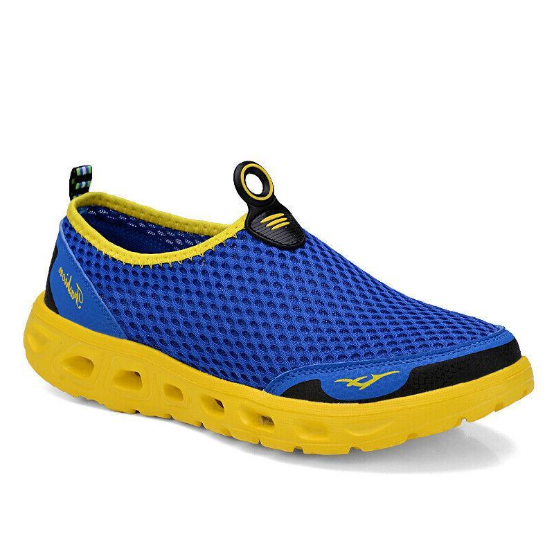 Men's Mesh Shoes Quick-Dry Pool Swim Running
