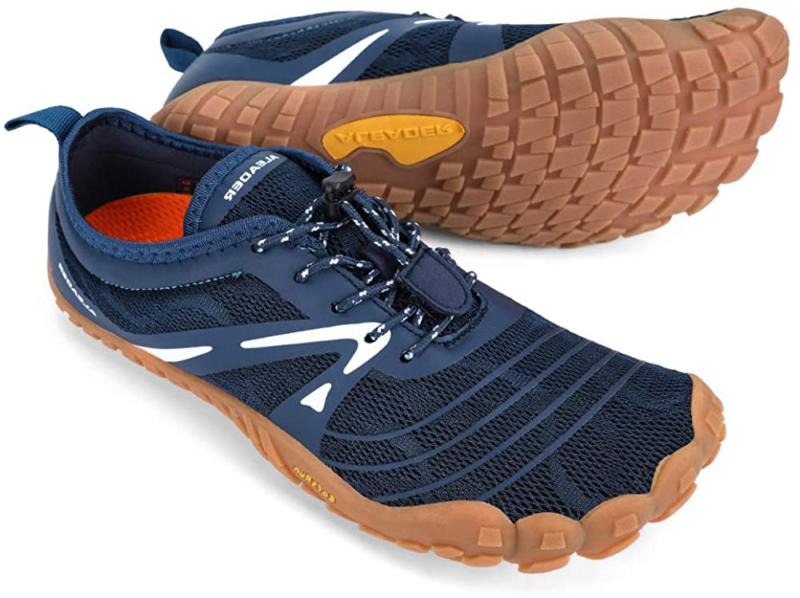 Aleader Mens Minimalist Trail Running Shoes Barefoot Zero Drop Wide Toe Sports Outdoors Trail Running