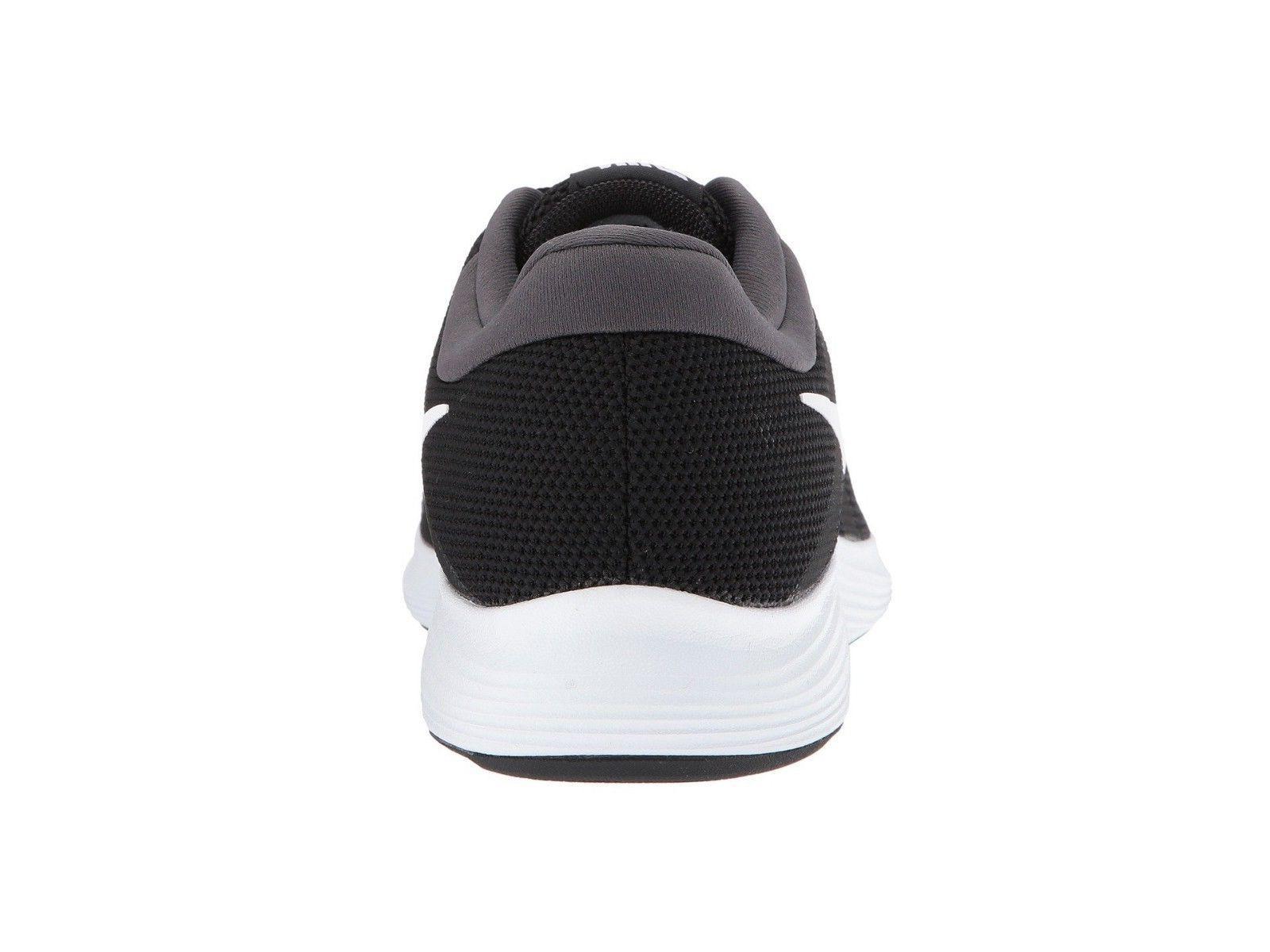 Nike Men's Revolution 4 Running Shoes 908988 Black White Anthracite