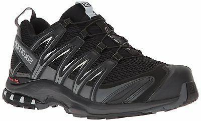 Salomon Men's XA Pro 3D Trail Running Shoe, Black, 9 Wide US