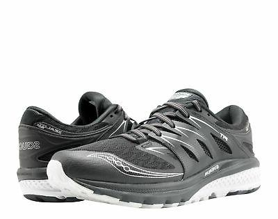 Saucony Men's Zealot Iso 2 Black/White Running Shoe 7.5 Men