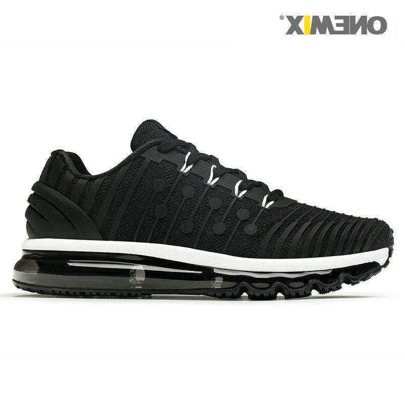 ONEMIX Men Sneaker Coolsion Black Sports Running Shoes Air C