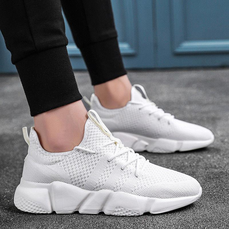 Shoes Athletic Sneakers Mesh Breathable