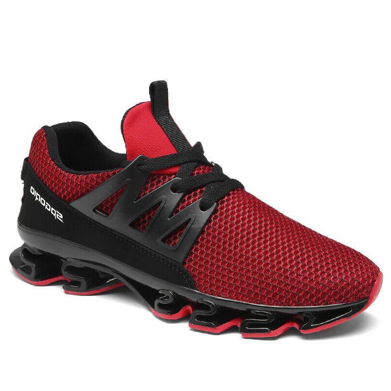 Men Blade Running Sneakers Antiskid Outdoor Breathable Hikin