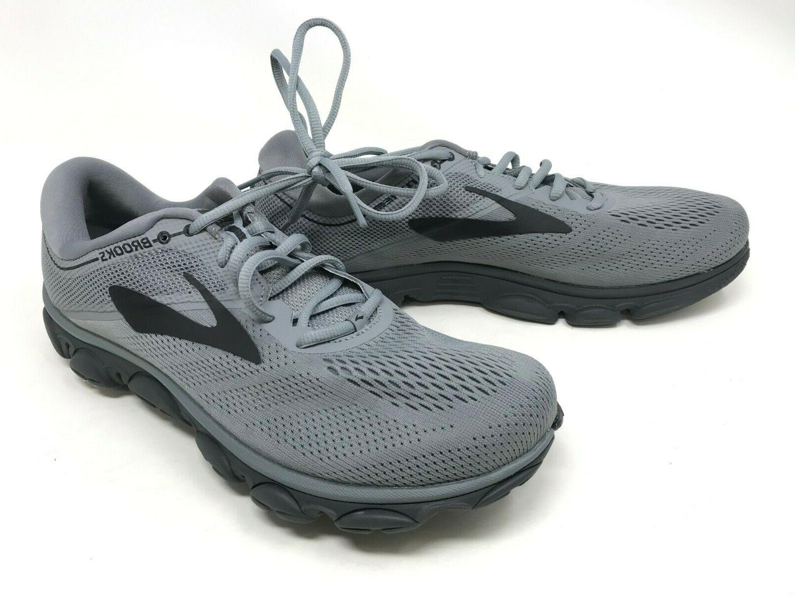 mens 1102681d040 anthem charcoal gray running shoes