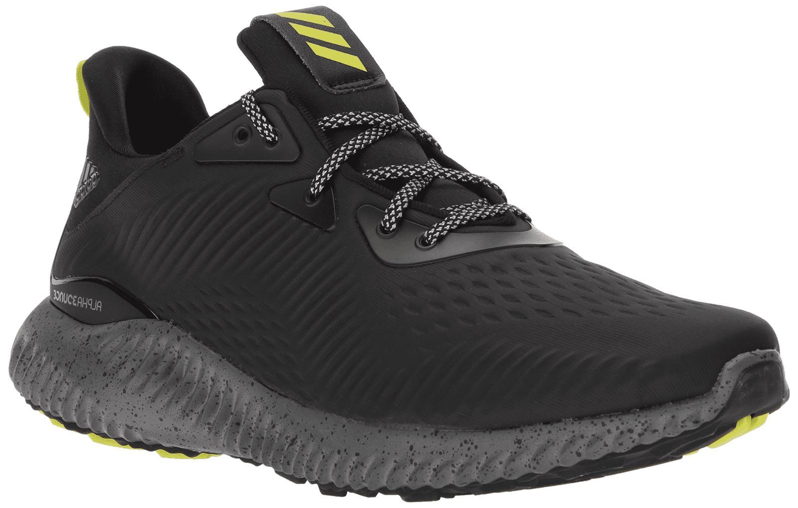 mens alphabounce all terrain black running athletic