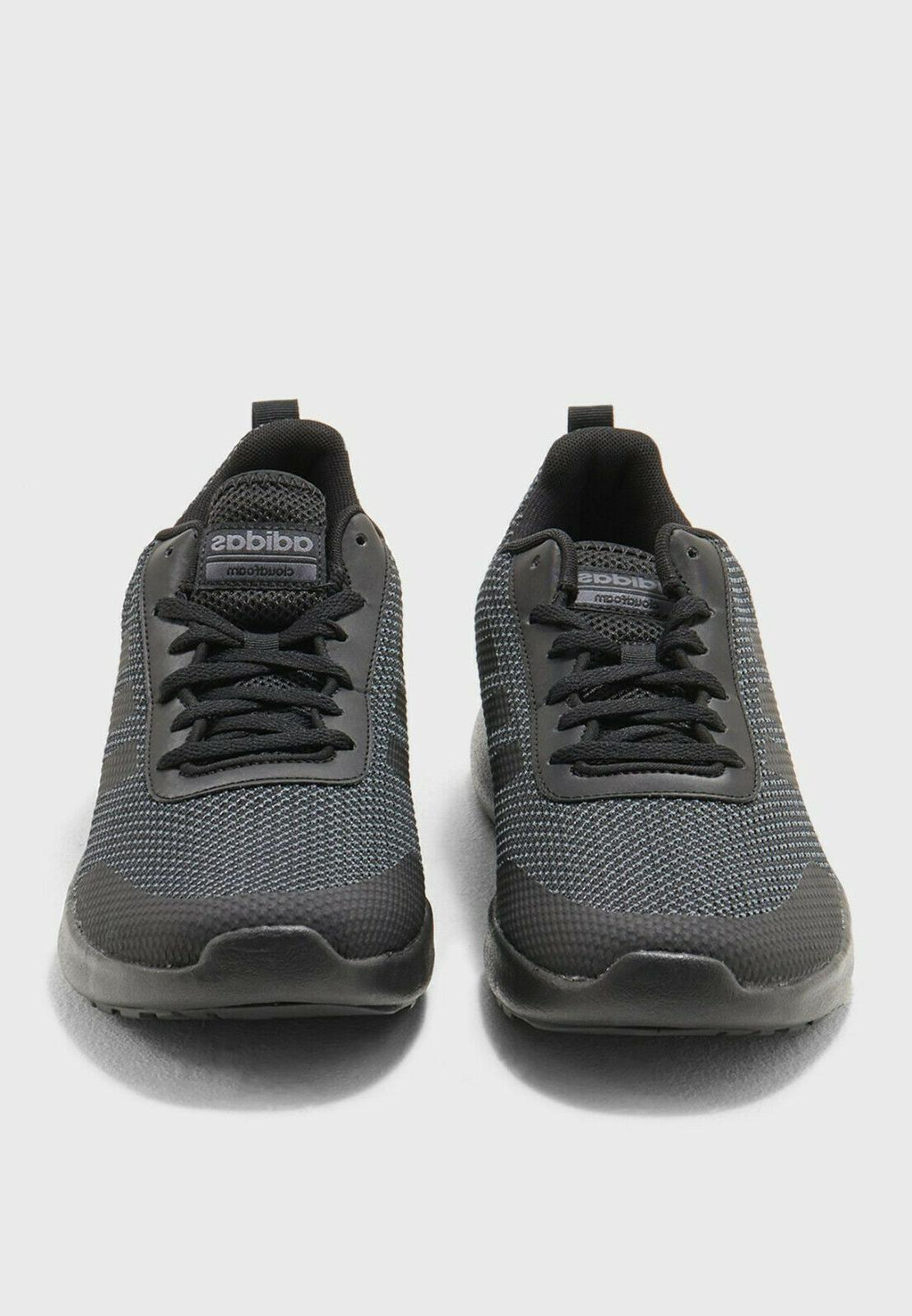 Mens ADIDAS Race Black Running Shoes NEW