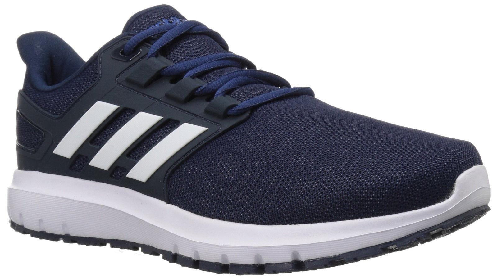 Mens Adidas Energy Cloud 2 Wide Navy Running Athletic Shoes