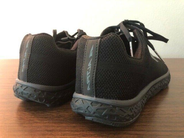 Altra Mens 1.5 Black/Black Running Shoes Size 9-