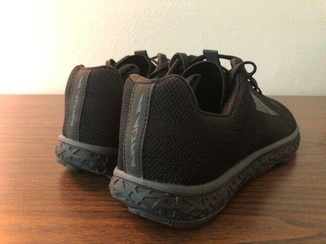 Altra Mens Black/Black Shoes 9- New