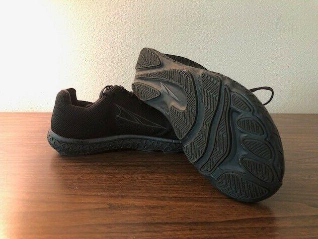 Altra Mens Escalante Black/Black Running Shoes 9-